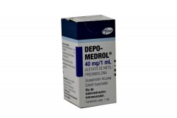 Depo-Medrol 40 mg/1 mL Inyectable Caja X 1 Ampolla Rx1