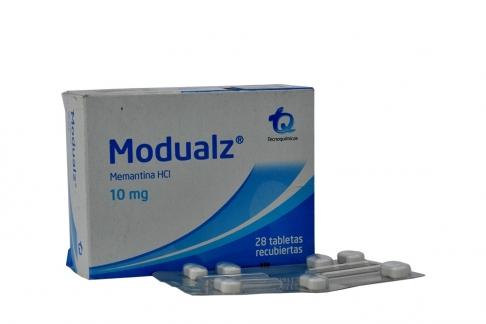 Modualz 10 mg Caja Con 28 Tabletas Recubiertas Rx4