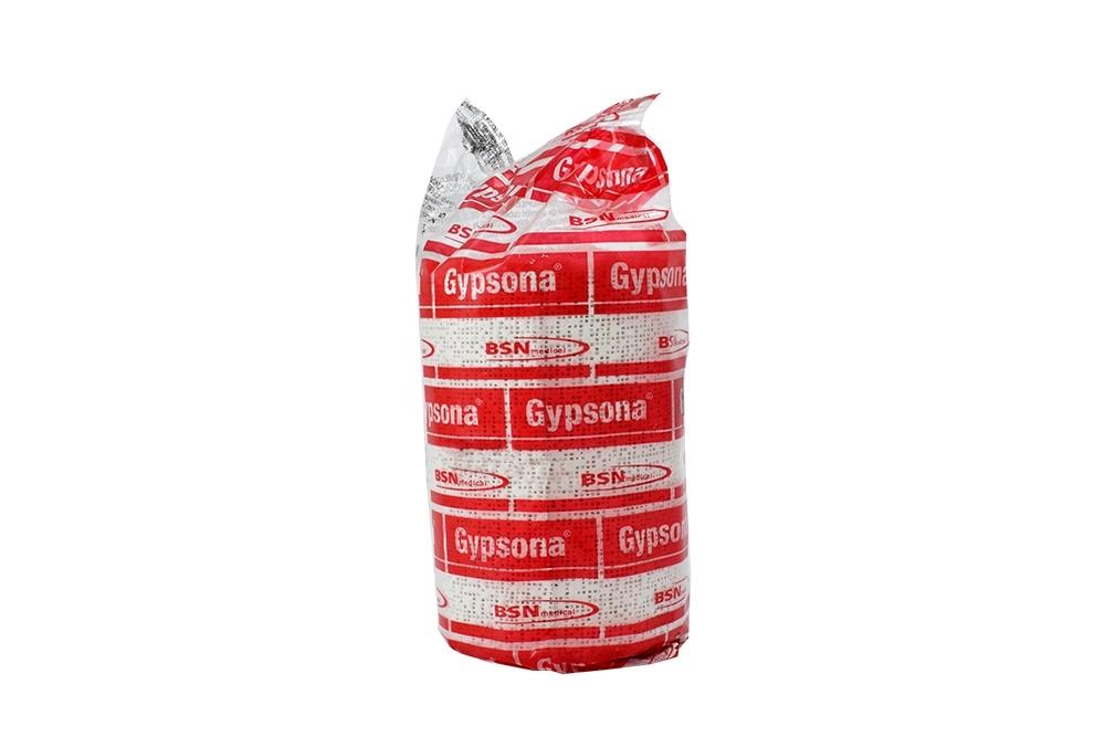 "Venda Enyesada Gypsona 4"" x 5 Yardas Bolsa Con 1 Unidad"