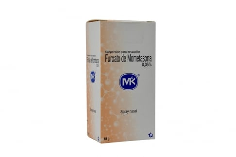 Furoato De Mometasona 0.05% Spray Nasal X 18 g