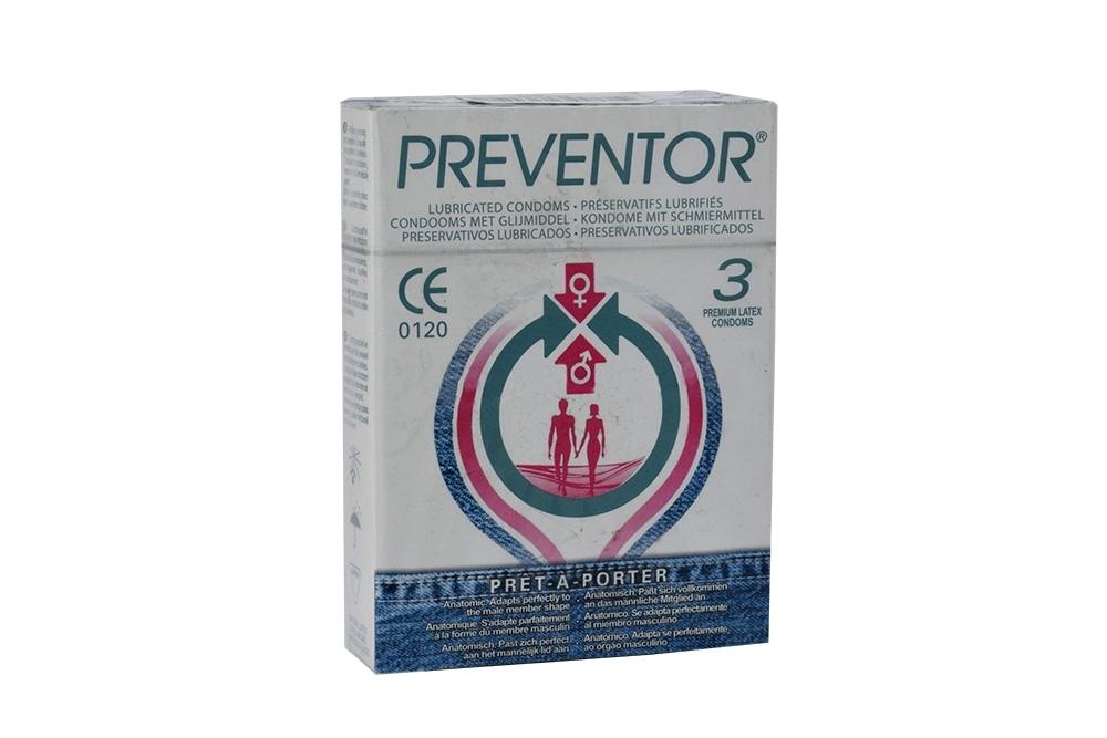 Preservativo Preventor Pret A Porter Caja Con 3 Unidades