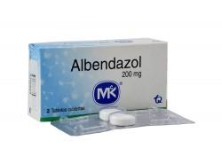 Albendazol 200 Mg Caja X 2 Tabletas Rx