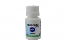 Albendazol 400 mg Frasco Con 20 mL Rx