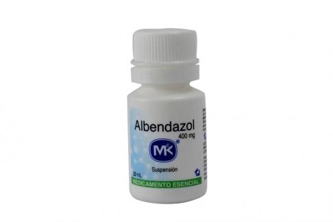Albendazol 400 mg Frasco Con 20 mL Rx