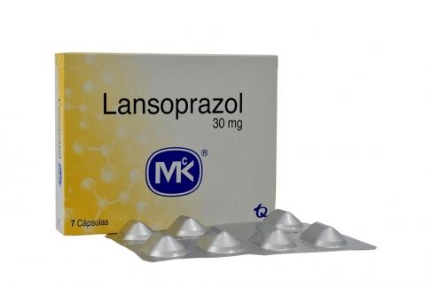 Lansoprazol 30 mg Caja Con 7 Capsulas Rx