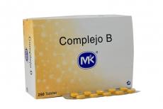 Complejo B Caja Con 250 Tabletas