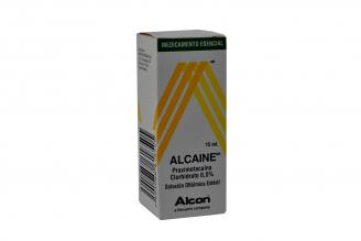 Alcaine 0.5% Solución Oftálmica Caja Con Frasco x 15 mL Rx3