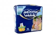Winny Pañal Ultratrim Gold Etapa 2/M Paca Con 16 Pañales