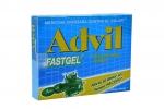 Advil Fastgel Caja x 10 Cápsulas Líquidas