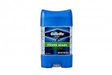 Desodorante Gillette Gel Power Beads Rush Frasco 82 g
