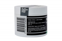 Sulfaplata Crema Hidrosoluble 1 % Pote Con 60 g