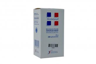 Mometasyn Suspensión Para Inhalación 50 mg / 100 mL Caja Con Spray Con 20 g Rx