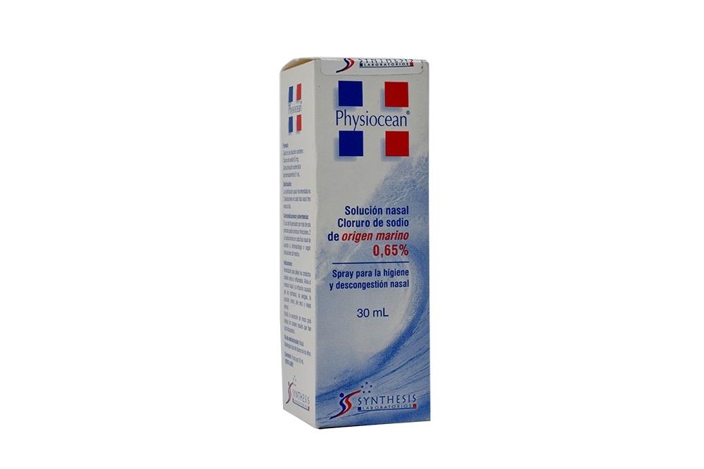 Physiocean 0.65% Caja Con Spray X 30 mL