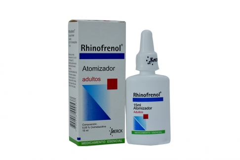 Rhinofrenol 0.05 % Adultos Caja Con Frasco Spray x 15 mL