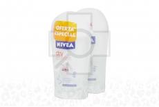 Desodorante Nivea Dry Comfort Empaque Con 2 Frascos Con 43 g C/U