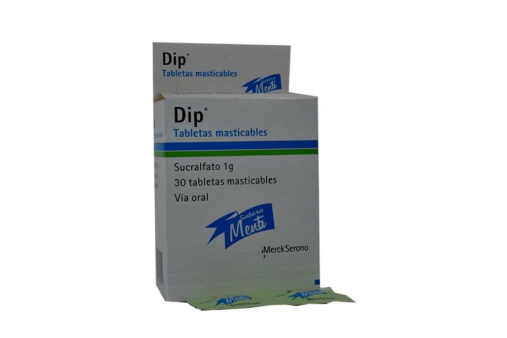 Dip Caja Con 30 Tabletas Masticables RX