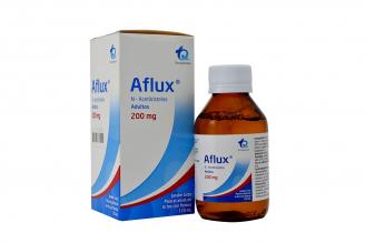 Aflúx Adultos 200 mg Caja Con Frasco Con 120 mL