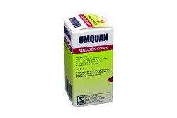 Umquan Pelargonium Sidoides Frasco x 20 mL Solución Gotas