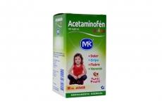 Acetaminofén  Niños Sabor A Tutti Frutti Caja Con Frasco X 90 mL