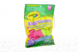 Flossers Para Niños Paquete Con 40 Piezas