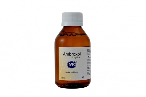 Ambroxol 15 mg / 5 mL Jarabe Caja Con Frasco Con 120 mL Rx - Pediatrico