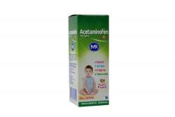 Acetaminofén Niños 100 mg Caja Con Frasco Con 30 mL
