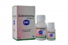 Azitromicina Polvo 200 mg / 5 mL Caja Con Frasco Con 15 mL + Frasco Con 10 mL Rx2