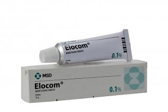 Elocom Crema 0.1 % Caja Con Tubo Con 15 g Rx