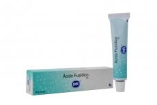 Ácido Fusídico Crema 2 % Caja Con Tubo x 15 g Rx
