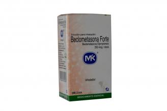 Beclometasona Forte 250 mcg Caja Con Inhalador X 200 Dósis Rx