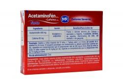 Acetaminofén Forte Caja X 8 Tabletas Recubiertas