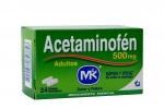ACETAMINOFÉN 500 MG ADULTO CAJA X 24 TABLETAS