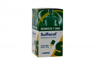 Sulfacol Caja Con Frasco X 18 g