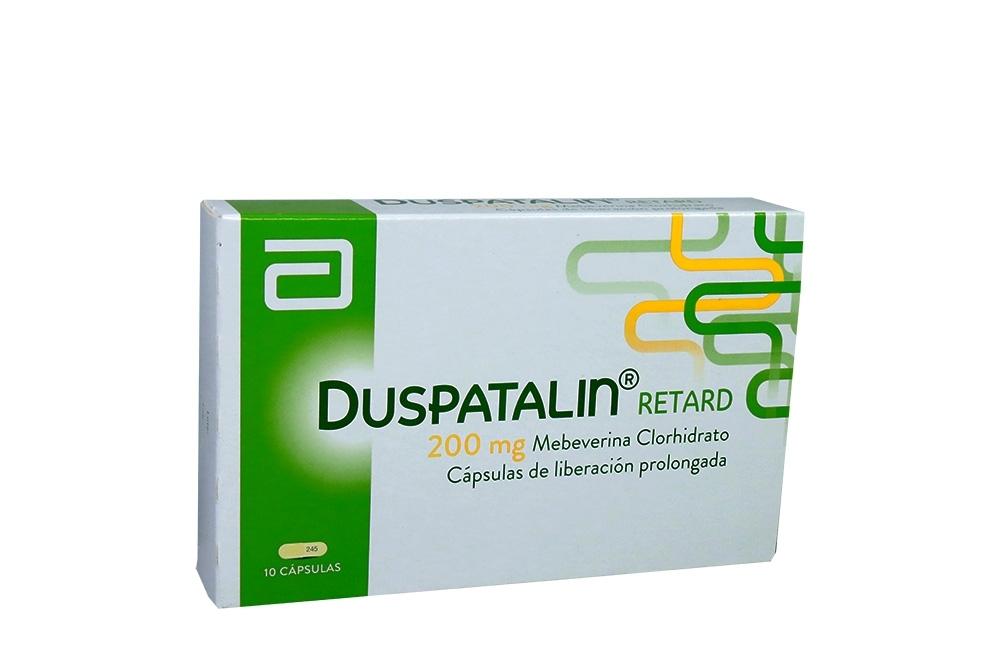 Duspatalin Retard 200 mg Caja Con 10 Cápsulas De Liberación Prolongada Rx
