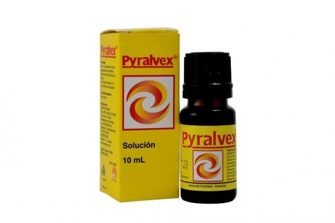 Pyralvex Solución Caja Con Frasco Con 10 mL