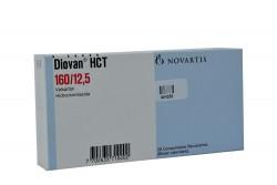 Diovan Hct 160 / 12.5 mg Caja Con 28 Comprimidos Rx4