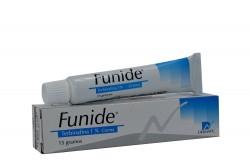 Funide 1% Crema Caja Con Tubo Con 15 g