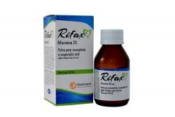Rifax 2 % Caja Con Frasco X 60 mL Polvo Para Reconstituir A Suspensión Oral Rx