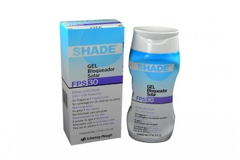Shade Gel FPS 30 Caja Con Frasco Con 177 mL - Bloqueador Solar