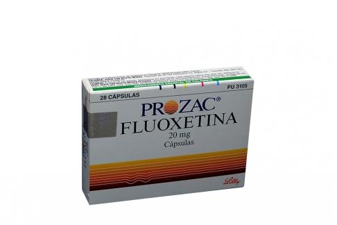Prozac 20 mg Caja Con 28 Cápsulas Rx4