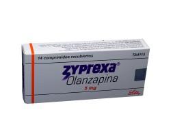 Zyprexa 5 mg Caja Con 14 Comprimidos Recubiertos Rx4