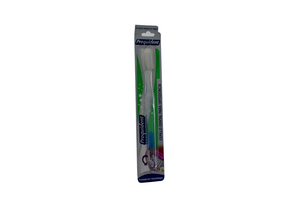 Cepillo Dental Proquident Ortodoncia Empaque Con 1 Unidad