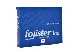 Folister 1 mg Caja Con 28 Cápsulas Blandas Rx