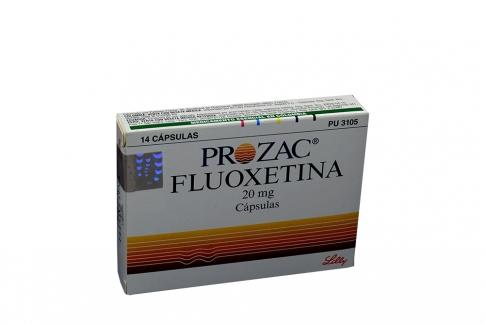 Prozac 20 mg Caja Con 14 Cápsulas Rx4