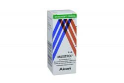 Maxitrol Solución Oftálmica Caja Con Frasco x 5 mL Rx