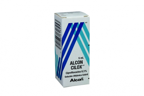 ALCON CILOX 0 3 % - GOTAS X 5 ML Rx