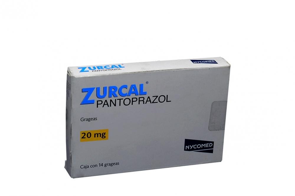 Zurcal 20 mg Caja Con 14 Grageas Rx