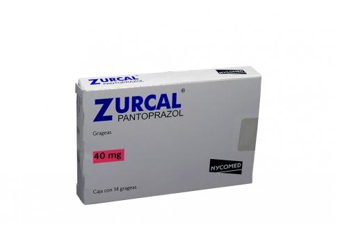 Zurcal 40 mg Caja Con 14 Grageas Rx