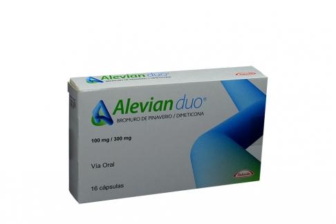 Alevian Duo 100 / 300 mg Caja Con 16 Cápsulas Rx