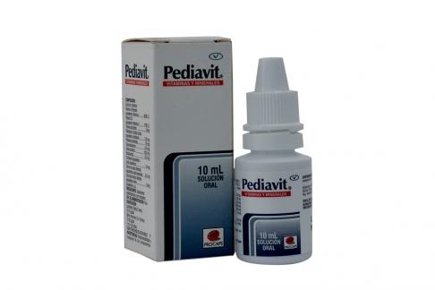 Pediavit Solución Caja Con Frasco Con 10 mL Rx